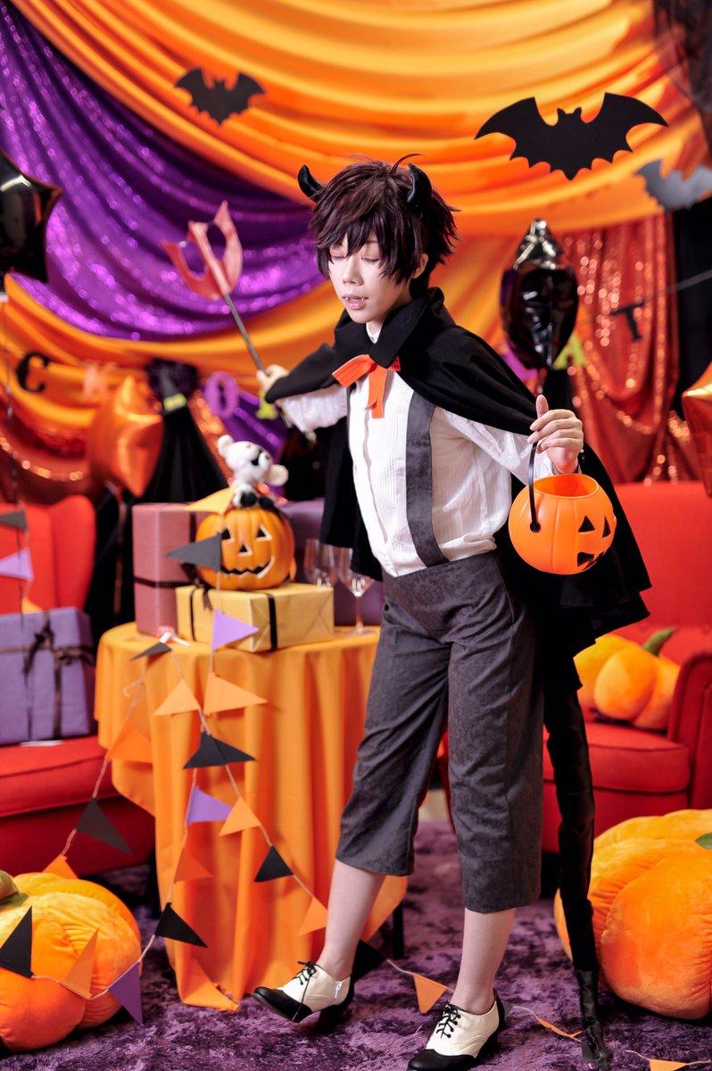 【撮影写真  血界戦線】Halloween!!季節ちょっと先取り😀🙏Leonardo Watchmodel.黒蜜撮影