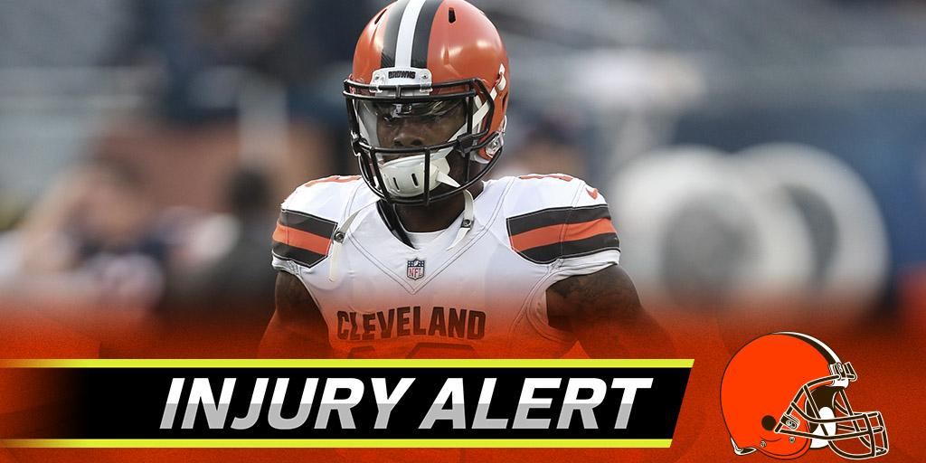 Browns fear WR Corey Coleman broke his hand: https://t.co/codcPCMf8L https://t.co/5Q4NMPGCpG