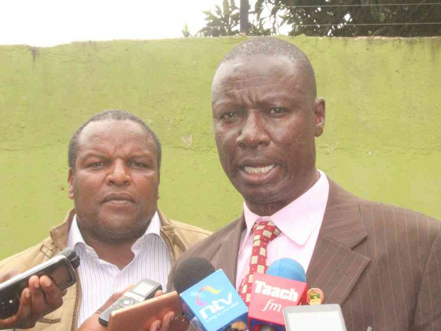 Sossion on his own in NASA, we'll vote Uhuru - Kericho, Bomet KNUT bosses
