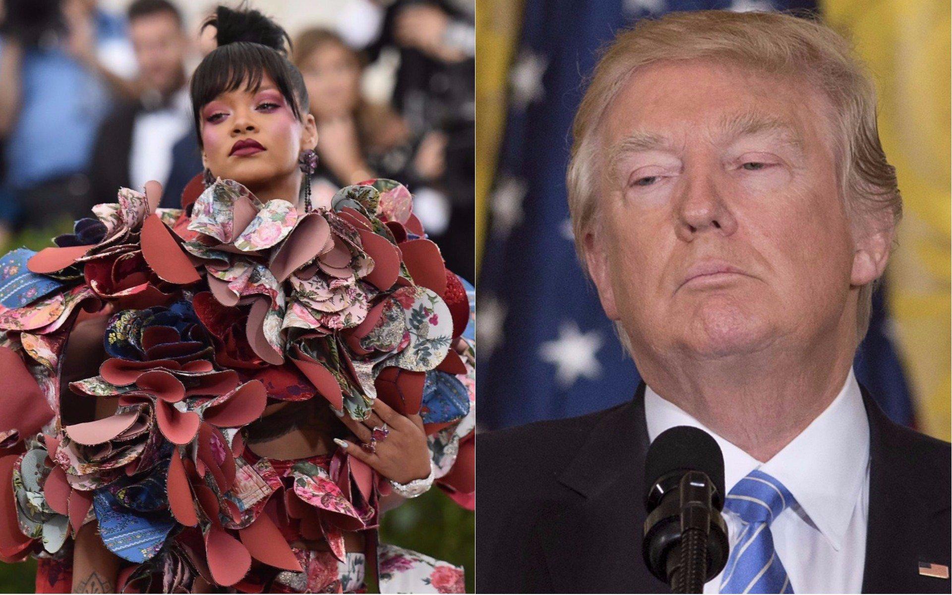 'Gay Bible' features Rihanna as God and Donald Trump as Satan https://t.co/9Im6FBOQjx https://t.co/BmYPzkv5dK