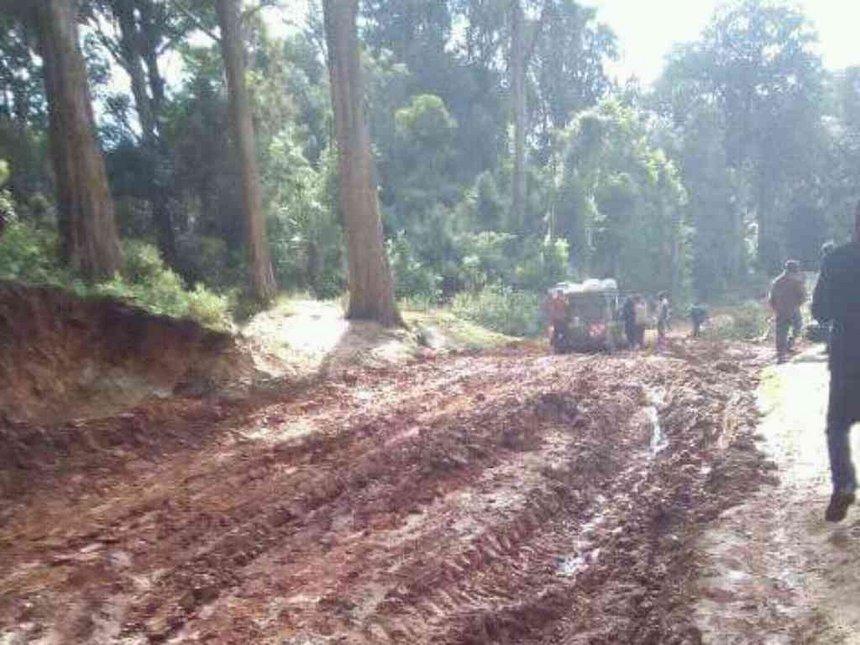 Heavy rains hinder transport, learning in Marakwet West