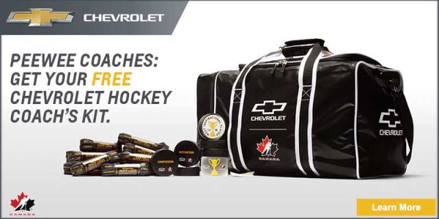 test Twitter Media - .@ChevroletCanada and @HockeyCanada Canada are teaming up to offer the Coach's Kit for Pee Wee coaches: https://t.co/hgWUxg54Aw https://t.co/9vrsMfk55i