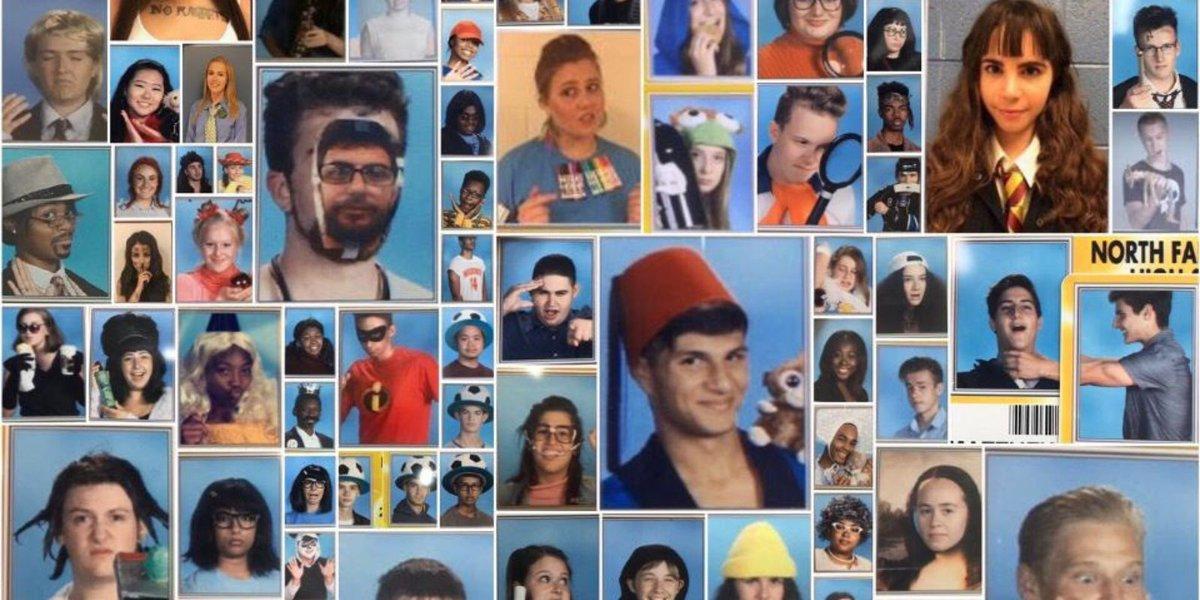 North Farmington students gain internet fame for senior IDs