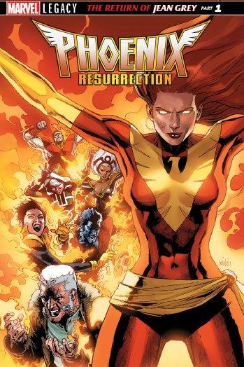 .@Marvel resurrects the XMen comic book Phoenix ahead of her movie spotlight