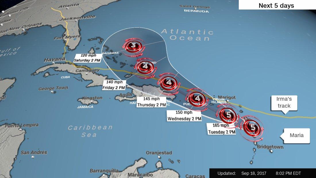 Huracán María: según autoridad huracan maria
