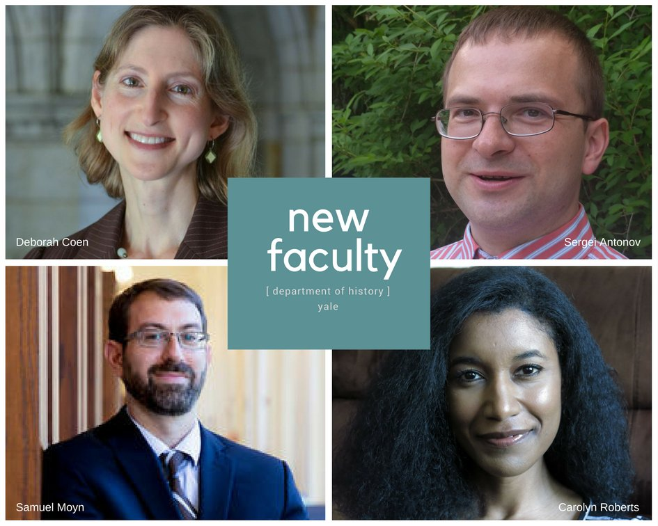 RT @yale_history: Check out this Q&A with our new faculty members #yalehistory 📚https://t.co/DPLyeHMkUz https://t.co/cOlSWqkJ2L