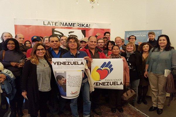 En Hamburgo celebraron con éxito jornada de solidaridad Todos Somos Venezuela. https://t.co/Wy39qwCJOE https://t.co/H1P9MYYkvC