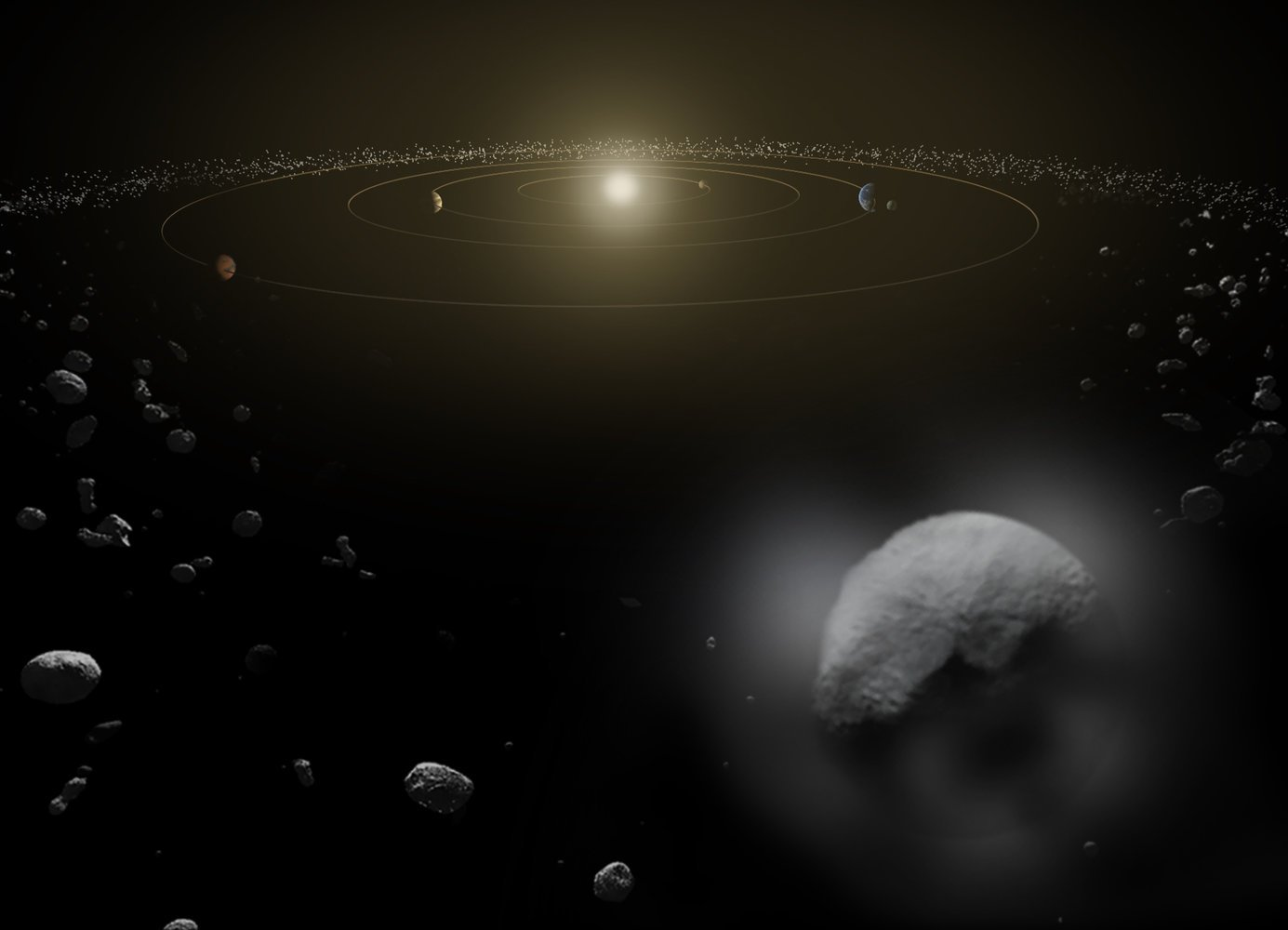 The Asteroid Belt May Be a 'Treasure Trove' of Planetary Building Blocks https://t.co/Q8aVxUGKn3 https://t.co/Kto09OyKmo