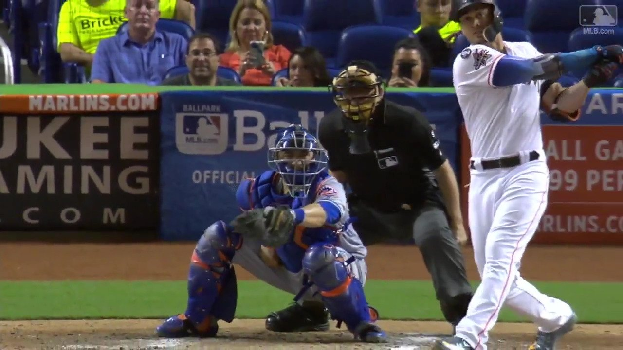 114.2 mph exit velocity, 455 feet.  @Giancarlo818 is something else. https://t.co/jcT5lGuCXy #Statcast https://t.co/8krBSofh8a