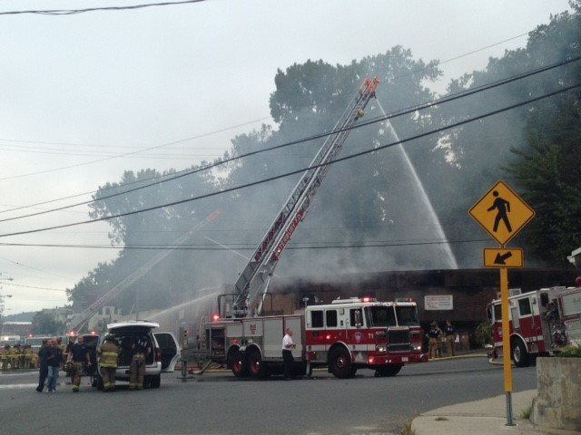 Waterbury family business destroyed after morning blaze