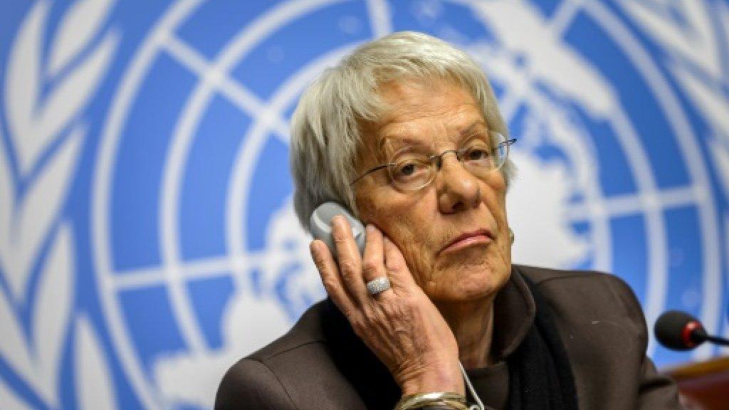 Syria war crimes investigator blasts impunity in farewell speech