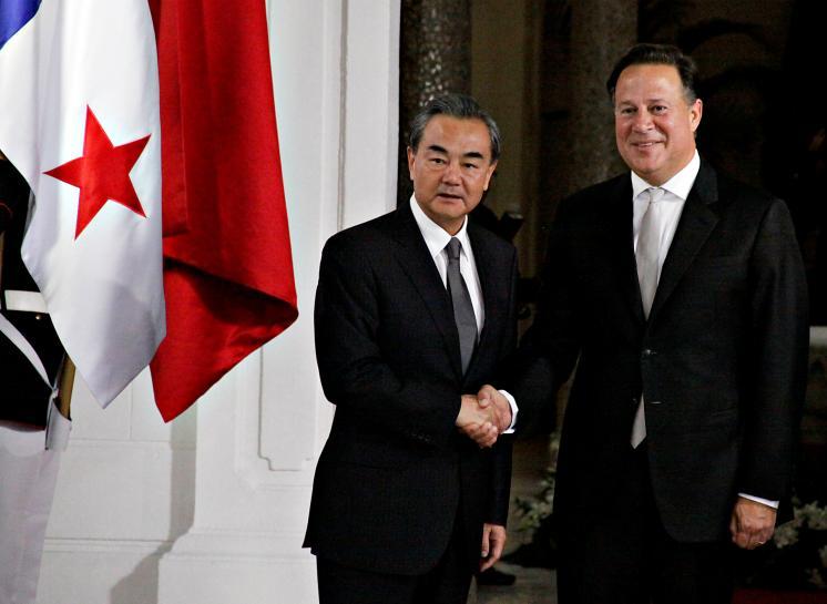 Panama's president says switching China ties not 'checkbook diplomacy'