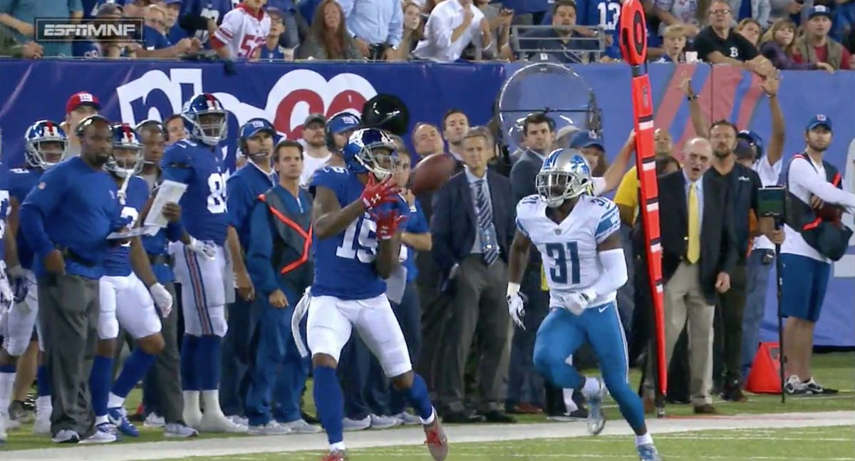 Brandon Marshall's tenure with the Giants is not going well so far htt...