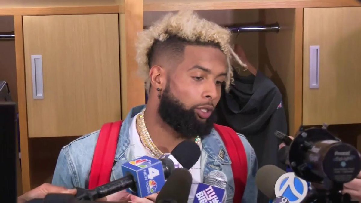 WATCH: WR Odell Beckham Jr. recaps his first game of 2017 https://t.co/aWJnBIOqCv