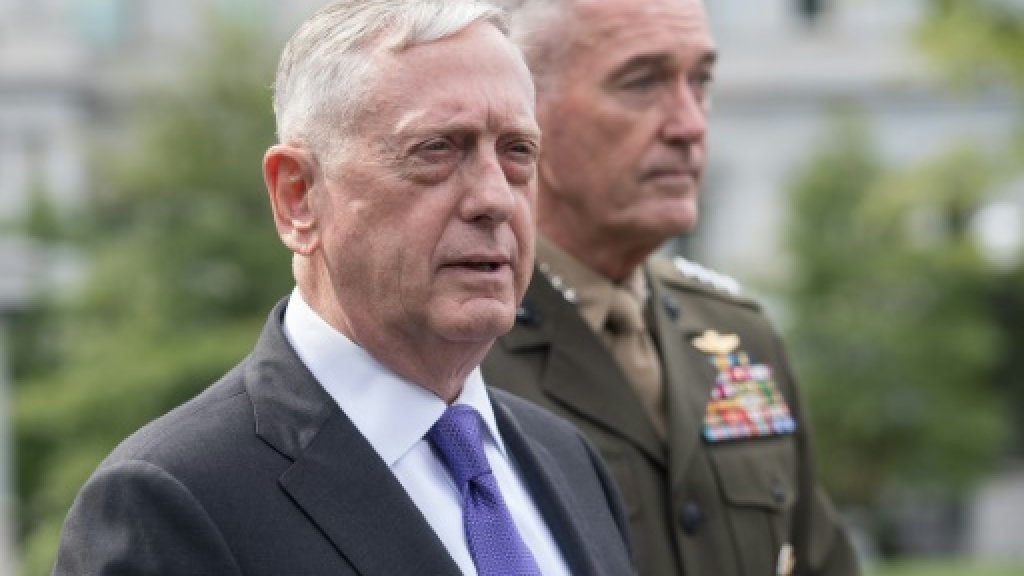 US has 'many' military options in Korea crisis: Mattis