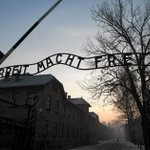 Israeli high school delegation leaves its mark on Auschwitz- literally