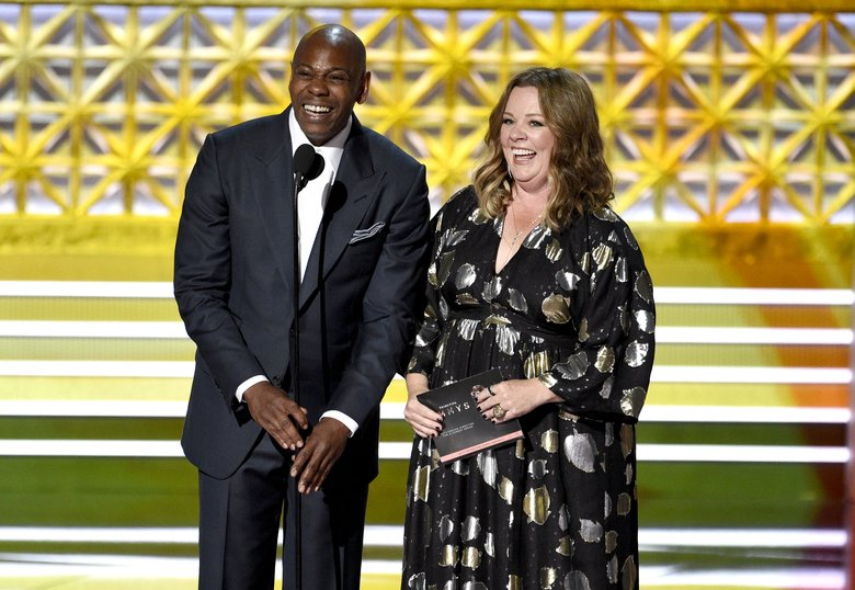 Chappelle and Oliver make #DCPublicSchools an internet hit at Emmys