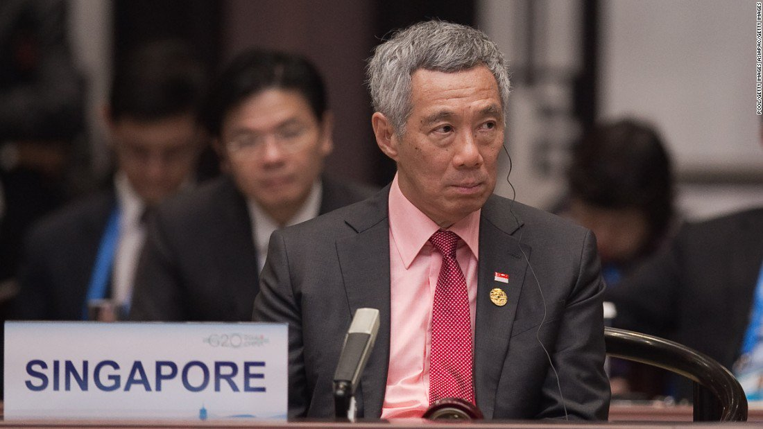 Singapore Prime Minister Lee Hsien Loong looks to patch up China relations on official visit