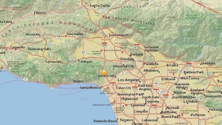 3.6 magnitude earthquake hits Westwood https://t.co/gk7AvVvKNd https://t.co/dVY7FRlD9k