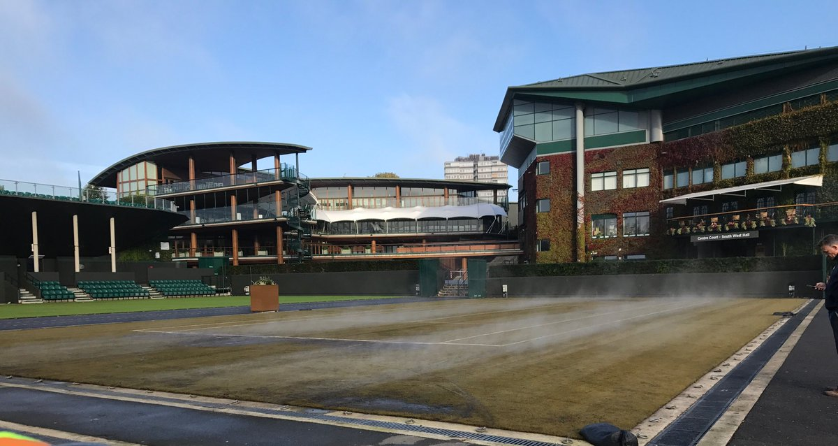 test Twitter Media - RT @AELTCGroundsman: Steam sterilising some of the courts for the first time this year #innovation #pesticidefree https://t.co/xx5gIhbqPv