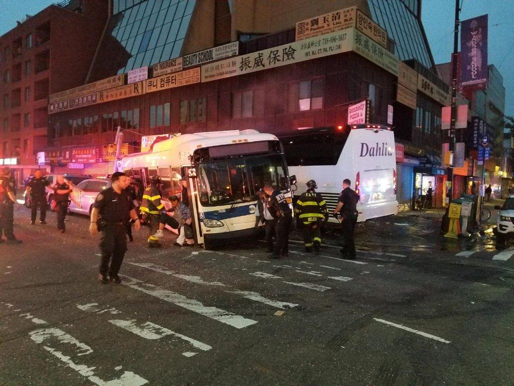 Driver killed in New York City bus accident previously arrested for drunk driving