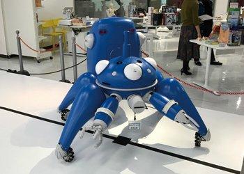 攻殻機動隊 S.A.C. 1/2サイズ タチコマ リアライズプロジェクト | 新潟市がマンガ・アニメ一色に染まる2日間!