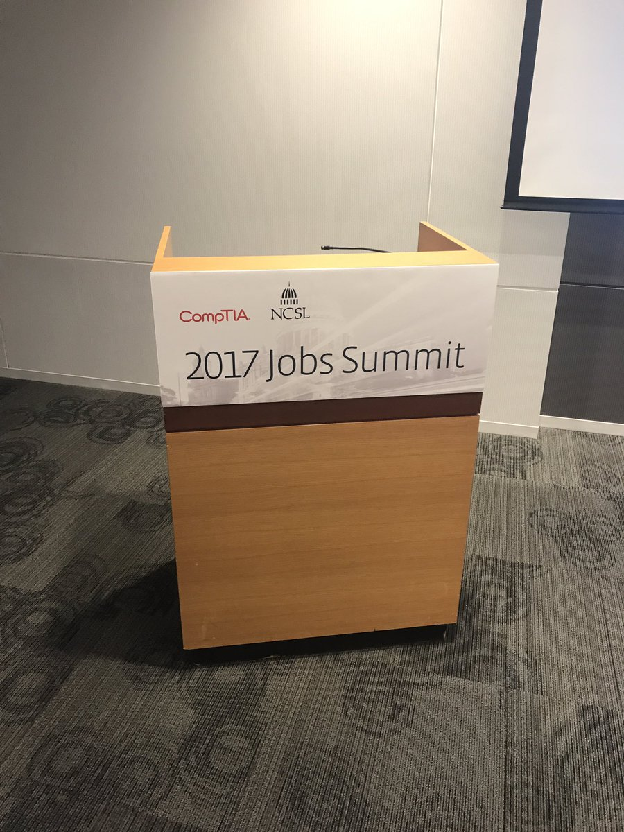 test Twitter Media - Participating in the NCSL Jobs Summit! Talking about how technology jobs are driving state economies. Many are in the Higher Education area! https://t.co/JVPfHHzMCv
