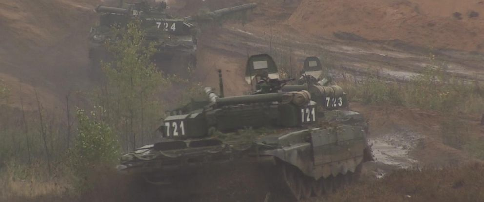 Neighbors fret as Putin, Russia kick off war games on border with Europe:
