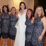 Six women turn up to wedding wearing the same £95 dress - and they weren't even the bridesmaids