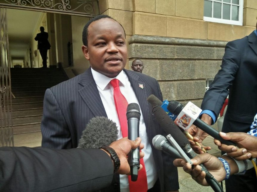Nyeri Town MP Ngunjiri Wambugu's petition against Justice Maraga is still before JSC
