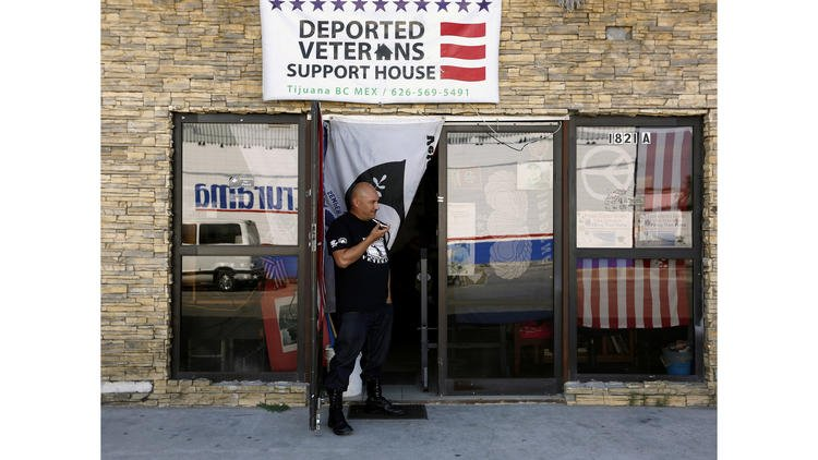 In Tijuana, this home is is a refuge for deported U.S. veterans https://t.co/zNEw39TmmU https://t.co/8U9bEG0dkW