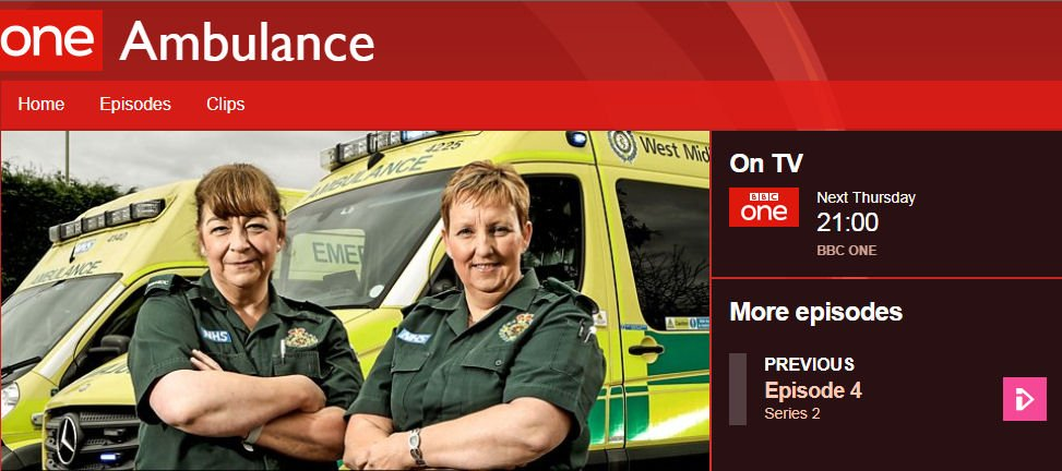 Pick up remote, BBC One, sit back & watch #Ambulance. Here we go!...