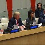 Trump says 'bureaucracy' holding UN back