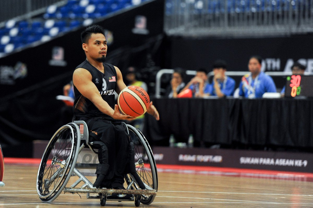 RT @KL2017: Wheelchair Basketball: Malaysian cagers stay on course https://t.co/tf5eK3MBmY https://t.co/Q89segyhVA