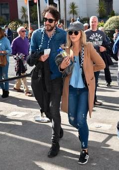 The Coronas' Danny O'Reilly makes public debut with girlfriend Emma Swift - Independent.ie