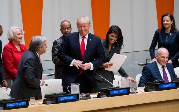 """Watch Live: World Leaders Speak at U.N. General Assembly"" by THE ASSOCIATED PRESS via NYT https://t.co/t1DmCnypFr https://t.co/eF7KyjZlii"