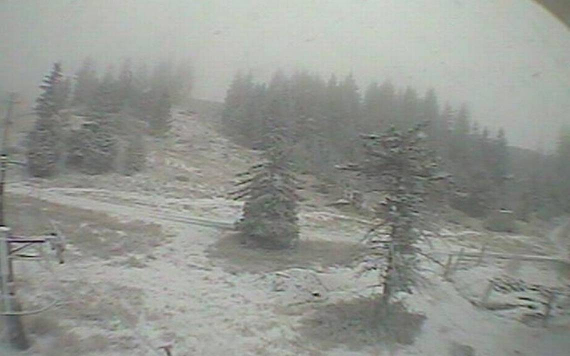 Winter weather has come to Bogus Basin early — well, sort of