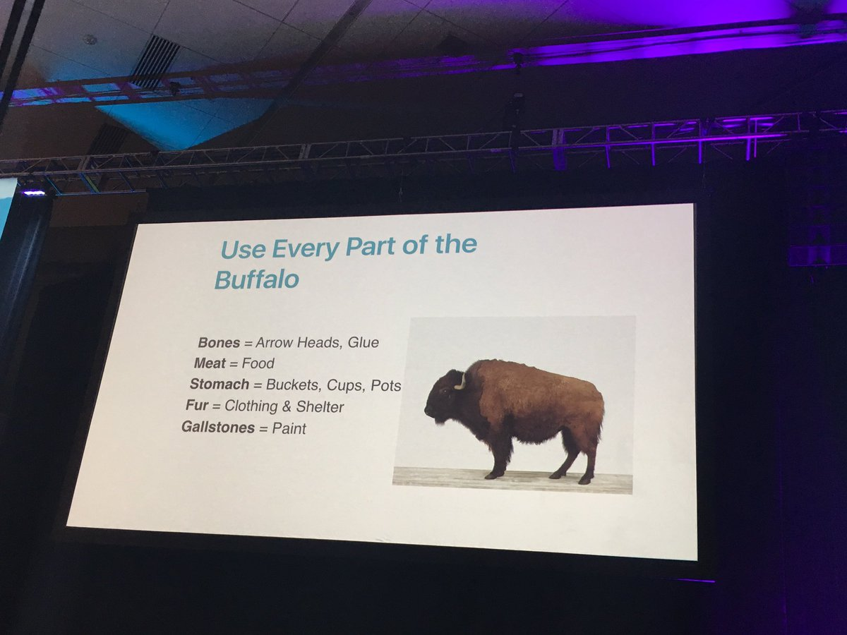 """Use every part of the buffalo."" Use every part of the smartphone in your apps. #superapp # #wip2017 https://t.co/6saP3RU35I"