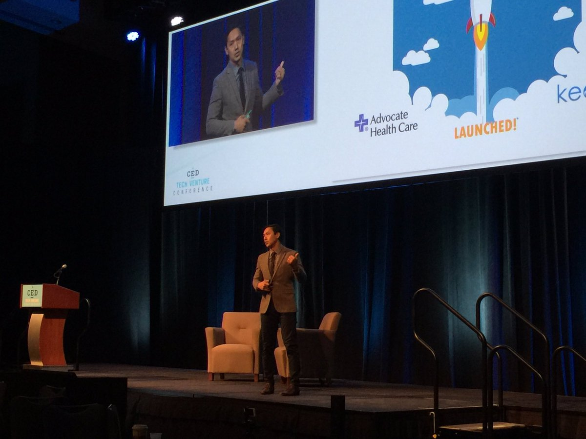 Good job @oakkar on @keonahealth pitch @CEDNC #CEDTVC #ConnectAndGrow https://t.co/2BPqU4t15E