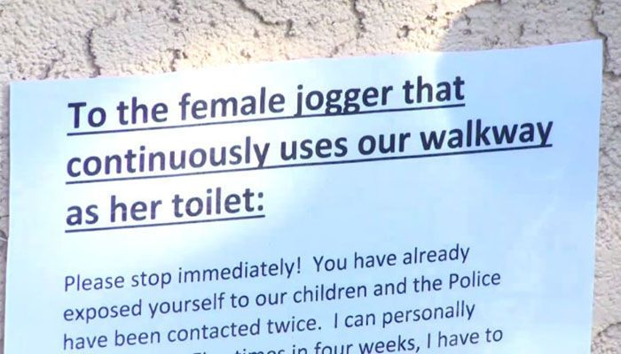 'Mad Pooper' publicly defecates in neighbors' yards https://t.co/cdtf2NtzKQ https://t.co/QY9oaPVszx