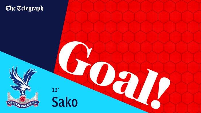 GOAL! The first goal of the Roy Hodgson reign as Bakary Sako scores. 1...