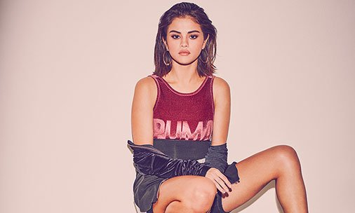 Selena Gomez is the new face of Puma - see the new pictures here: