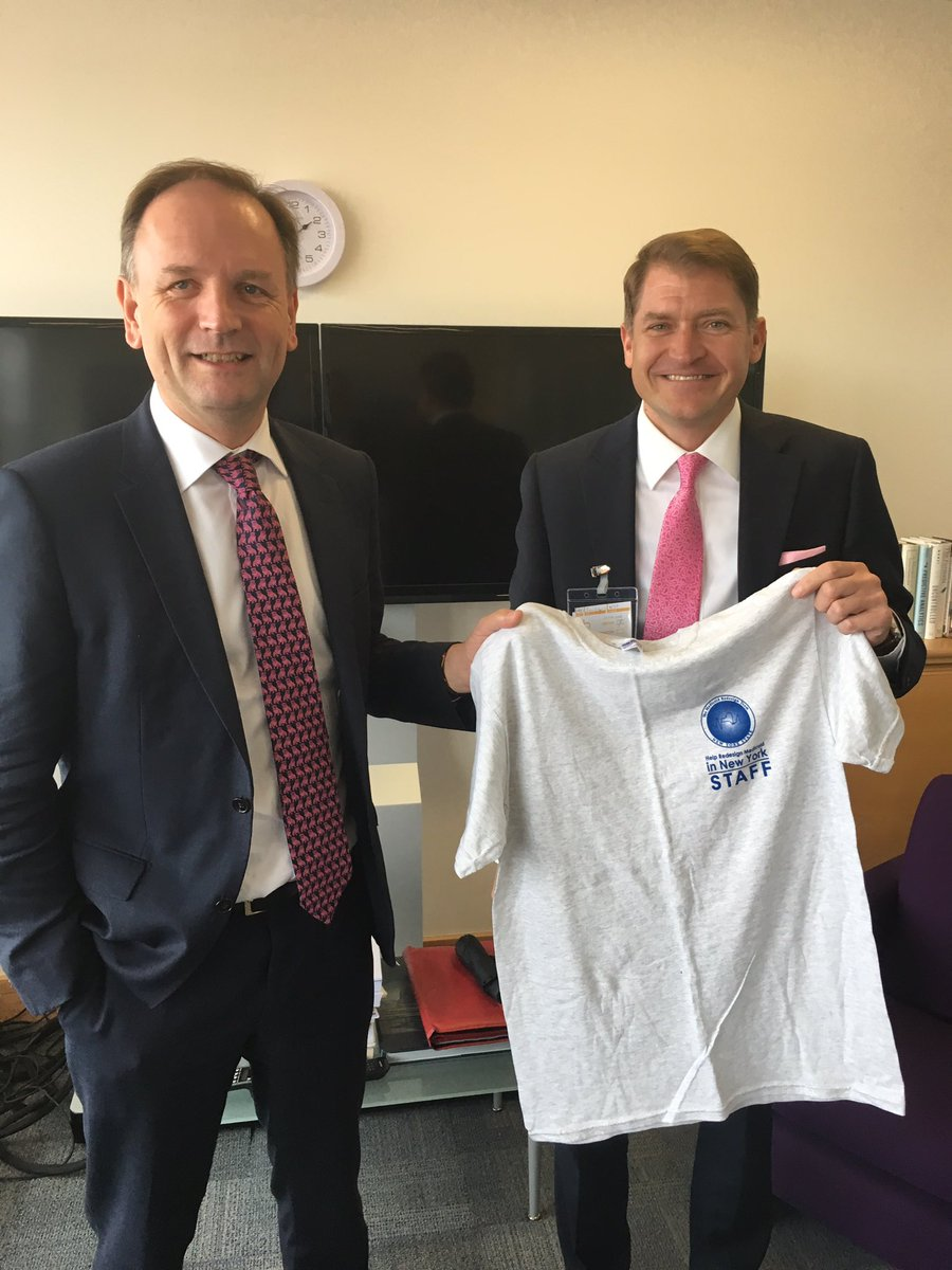 RT @NHSEngland: New York State Department of Health Director J. Helgerson @policywonk1 visiting @TH2GETHER with Simon Stevens, @NHSEngland…