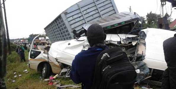 Uganda accident victims bodies expected at JNIA this evening