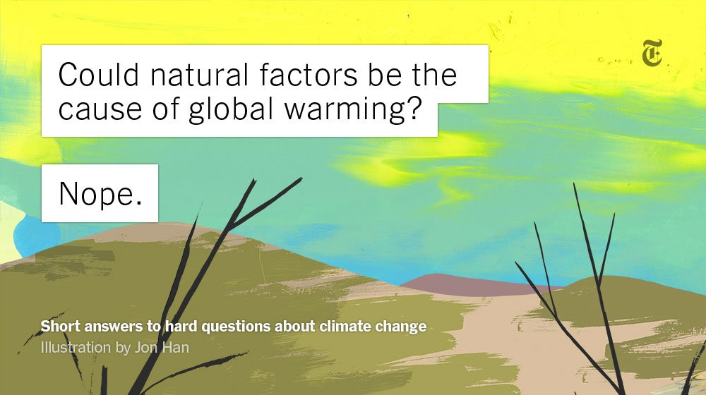 Climate change is complex. We've got answers to your questions. https://t.co/dgJbt0zFV1 https://t.co/0Ngm7oSXI3