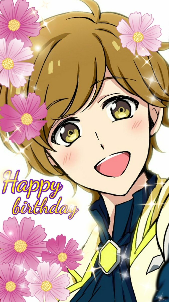 お誕生日おめでと~✨杏茶かわいいかわいいかわいい🌼🌼お顔も性格もお声もかわゆい。たまらん。おめでとう。#有進杏茶生誕祭