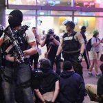 Protesters back on St Louis streets after violence, arrest