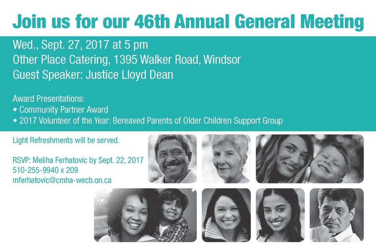 test Twitter Media - Join us for our 46th Annual General Meeting Guest Speaker: Justice Lloyd Dean RSVP: Meliha Ferhatovic  510-255-9940 x 209 https://t.co/ftuQqy1S9y