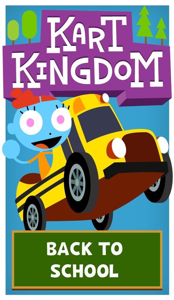 Kart Kingdom We Re Going Back To School In Kart Kingdom Too