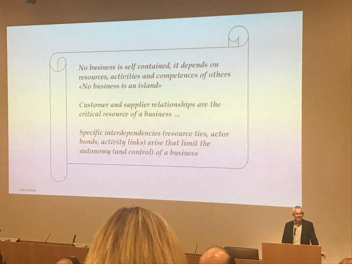 RT @USI_EMBA: No business is an island Prof #Sneota #farewellAddress #b2b #markets @USI_en @USI_university #lugano https://t.co/OzUPdAOhUi